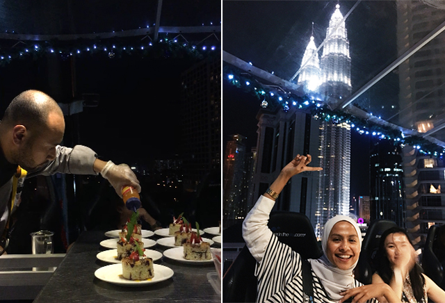 Things To Do In Kuala Lumpur, dinner in the sky