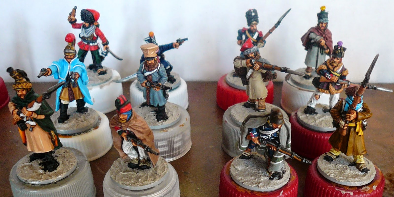 Perry miniatures - French Retreat from Moscow