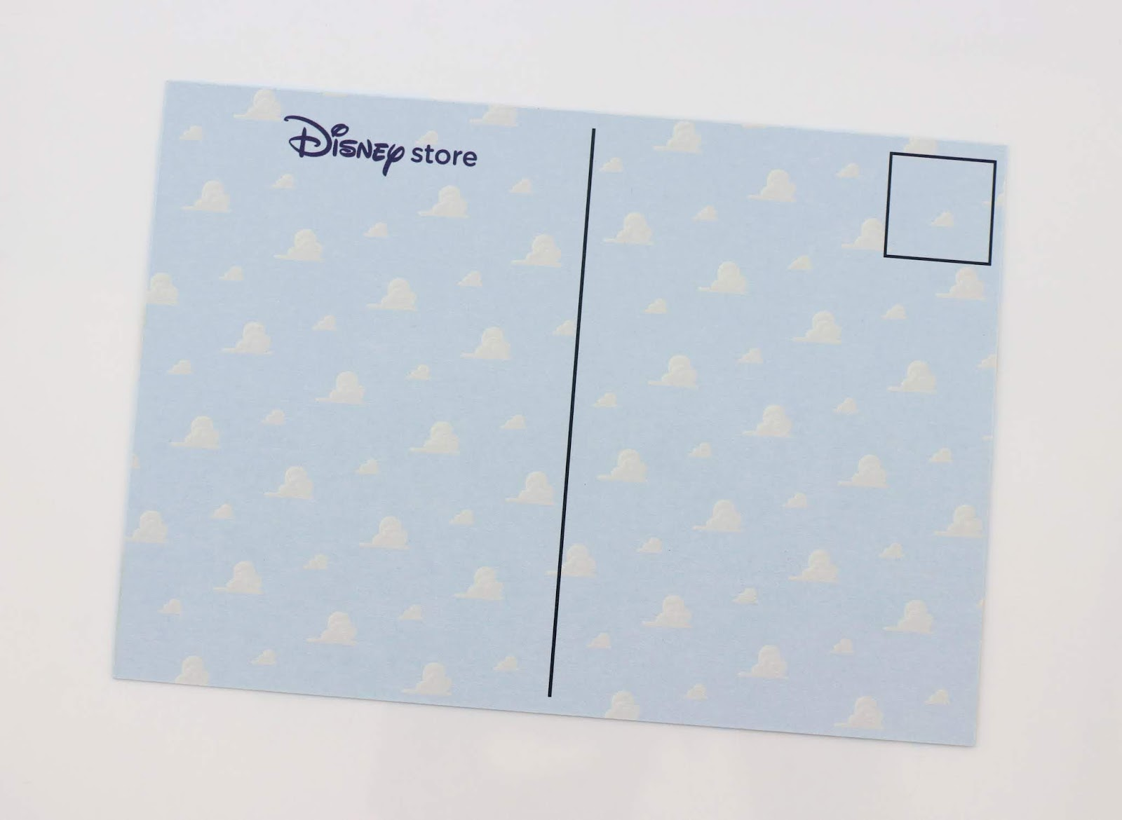 disney store toy story land event postcard