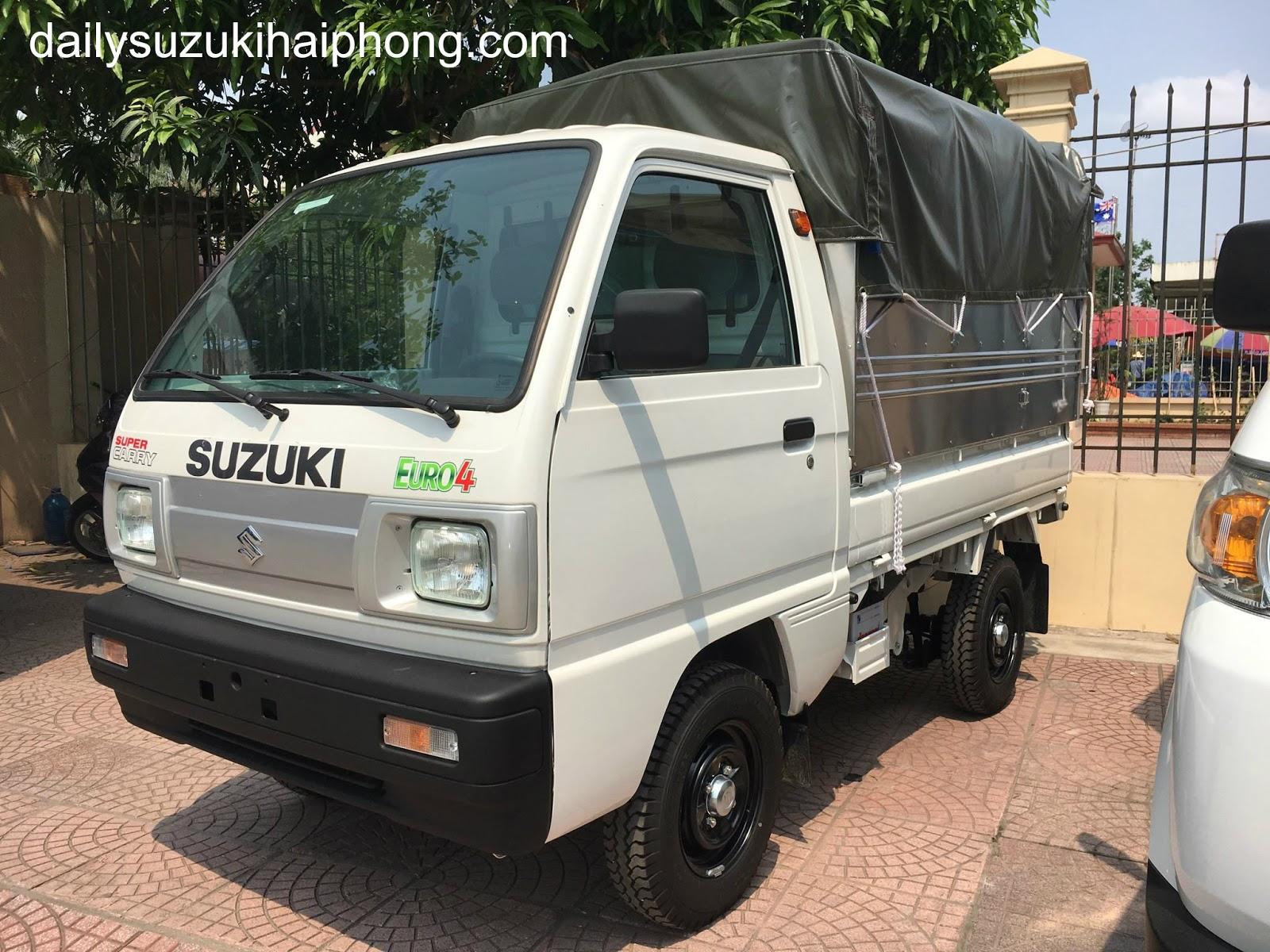 xe tải 5 tạ Suzuki Hải Phòng