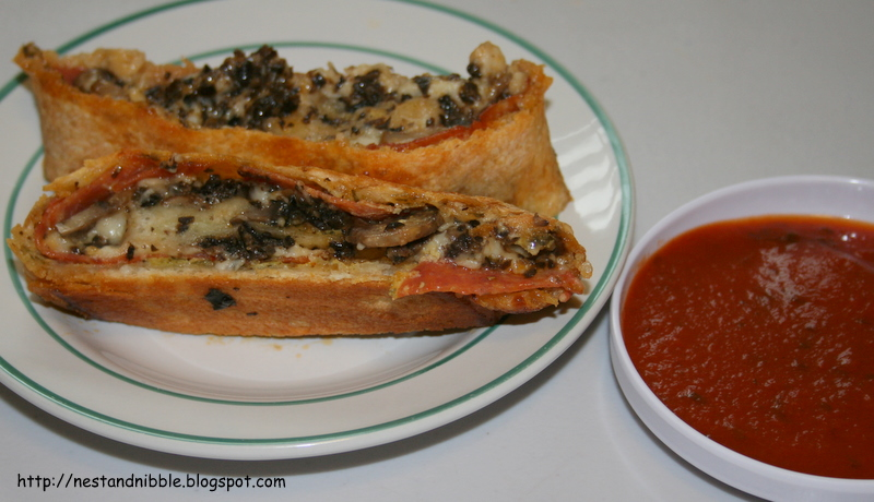 Nest and Nibble: Pizza Stromboli