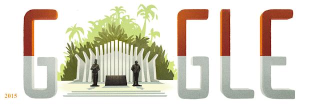 Google doodle hari ini rayakan hut ri ke 71
