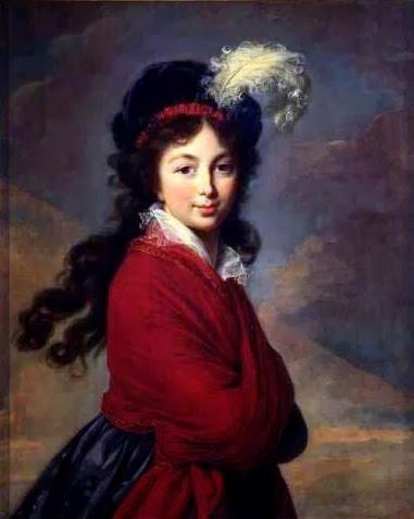 Princess Juliane of Saxe-Coburg-Saalfeld by Louise Élisabeth Vigée Le Brun, 1795