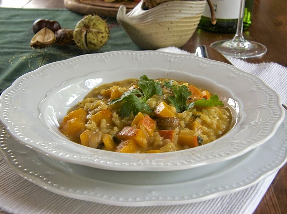 Auf den Punkt gegartes Safranrisotto - ein Festmahl!