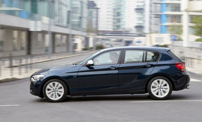 BMW 1-Series from the side