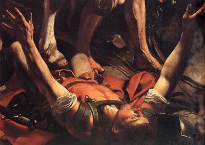 Conversione di San Paolo, dettaglio