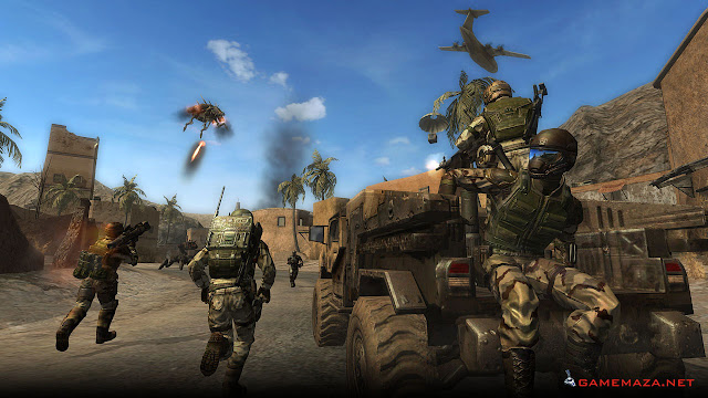 Enemy Territory Quake Wars Gameplay Screenshot 1