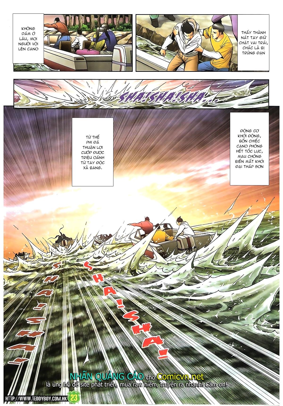 Người Trong Giang Hồ - Chapter 1616: Triệu Kế Bang vs Đinh Dao - Pic 21