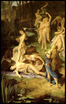 La muerte de Orfeo