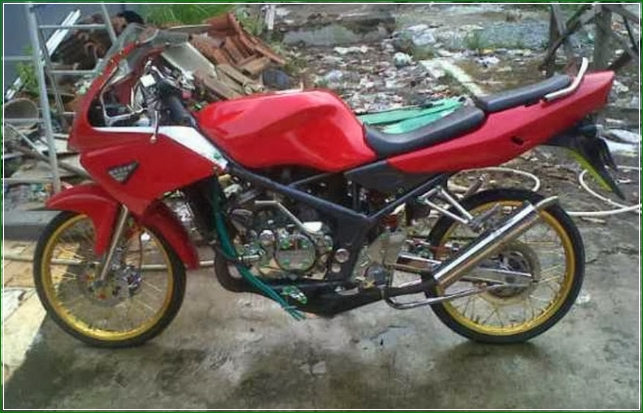 Ninja Rr Old Modif Modifikasi Ninja Rr Old Part4 2019 08 20