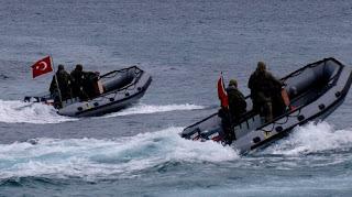 Η Τουρκία έθεσε σε υψηλή ετοιμότητα Ταξιαρχία Πεζοναυτών απέναντι από Χίο και Ρόδο
