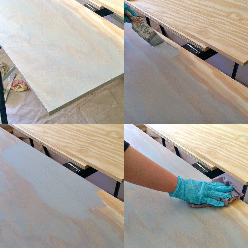 How to stain plywood