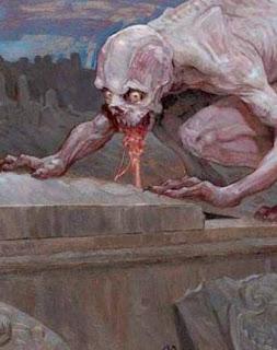 Resultado de imagem para ghoul criatura