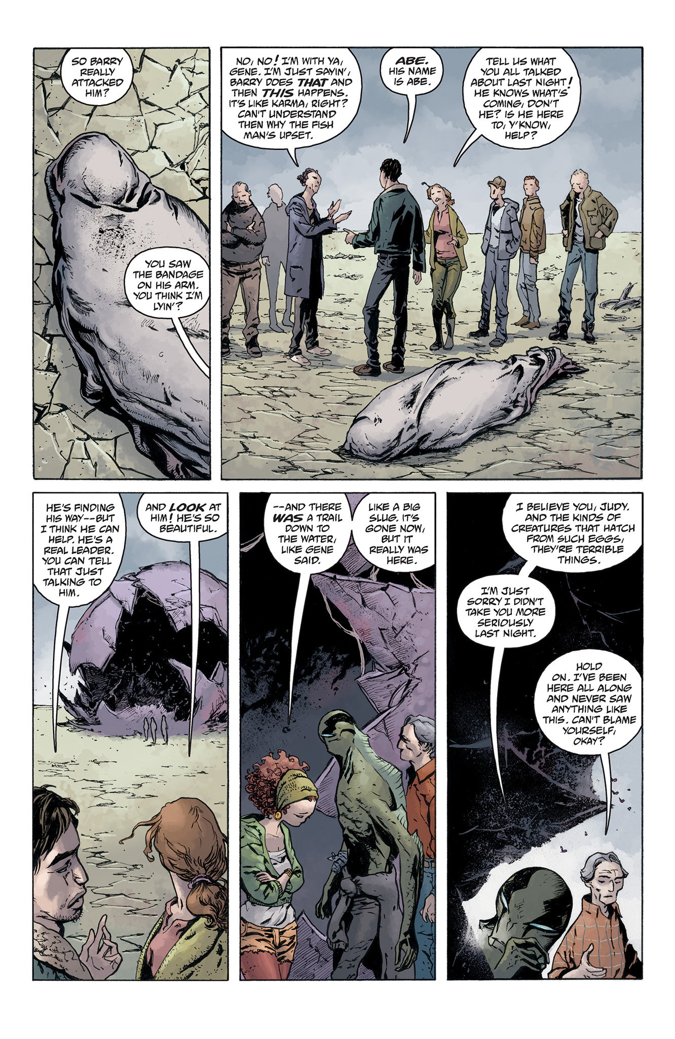 Read online Abe Sapien comic -  Issue #5 - 8