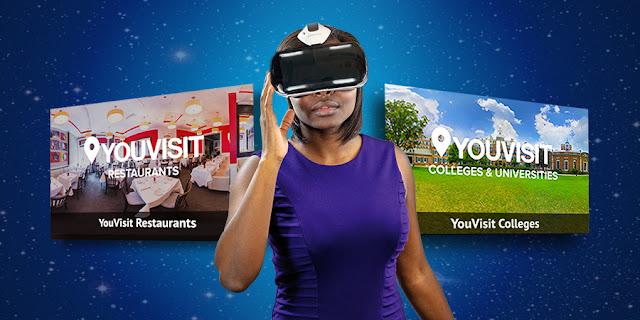 YouVisit VR لاستكشاف العالم افتراضياً