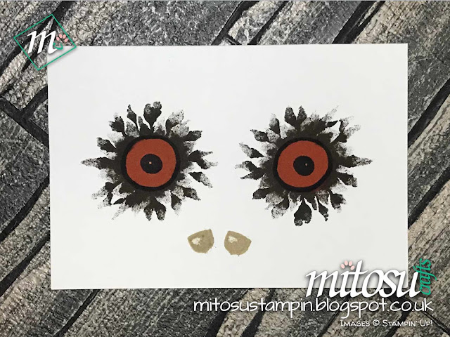 Stampin' Up! Spooky Painted Harvest Mitosu Crafts UK Online Shop