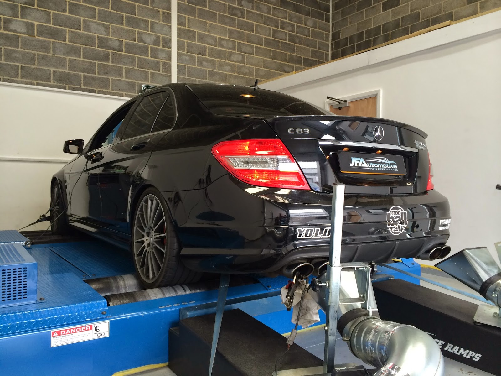 Mercedes C63 AMG Engine & Gearbox Tuning at JF Automotive | JF