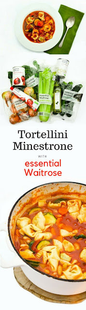 Tortellini Minestrone Recipe using #essentialWaitrose ingredients @waitrose