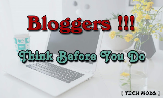 Common Blogging Mistakes That You Should Not Do On Your Blog