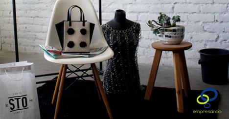 Empresando Santo Remedio de Jimena Larrondo. marca de accesorios y bolsas de modacreadas por artesanaschiapanecas