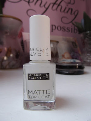 gabriella salvete matte top coat