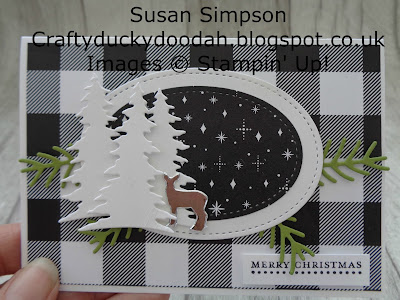 Stampin' Up! UK Independent  Demonstrator Susan Simpson, Craftyduckydoodah!, Carols of Christmas, October 2017 Coffee & Cards Project, Supplies available 24/7 from my online store,