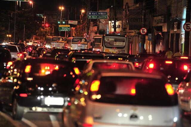 Frota de veículos de Sorocaba é quase do tamanho de Macapá