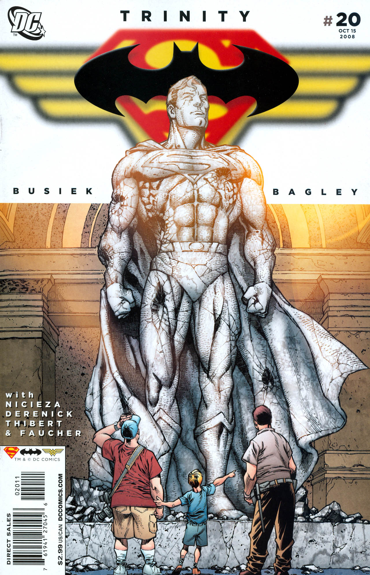 Read online Trinity (2008) comic -  Issue #20 - 1