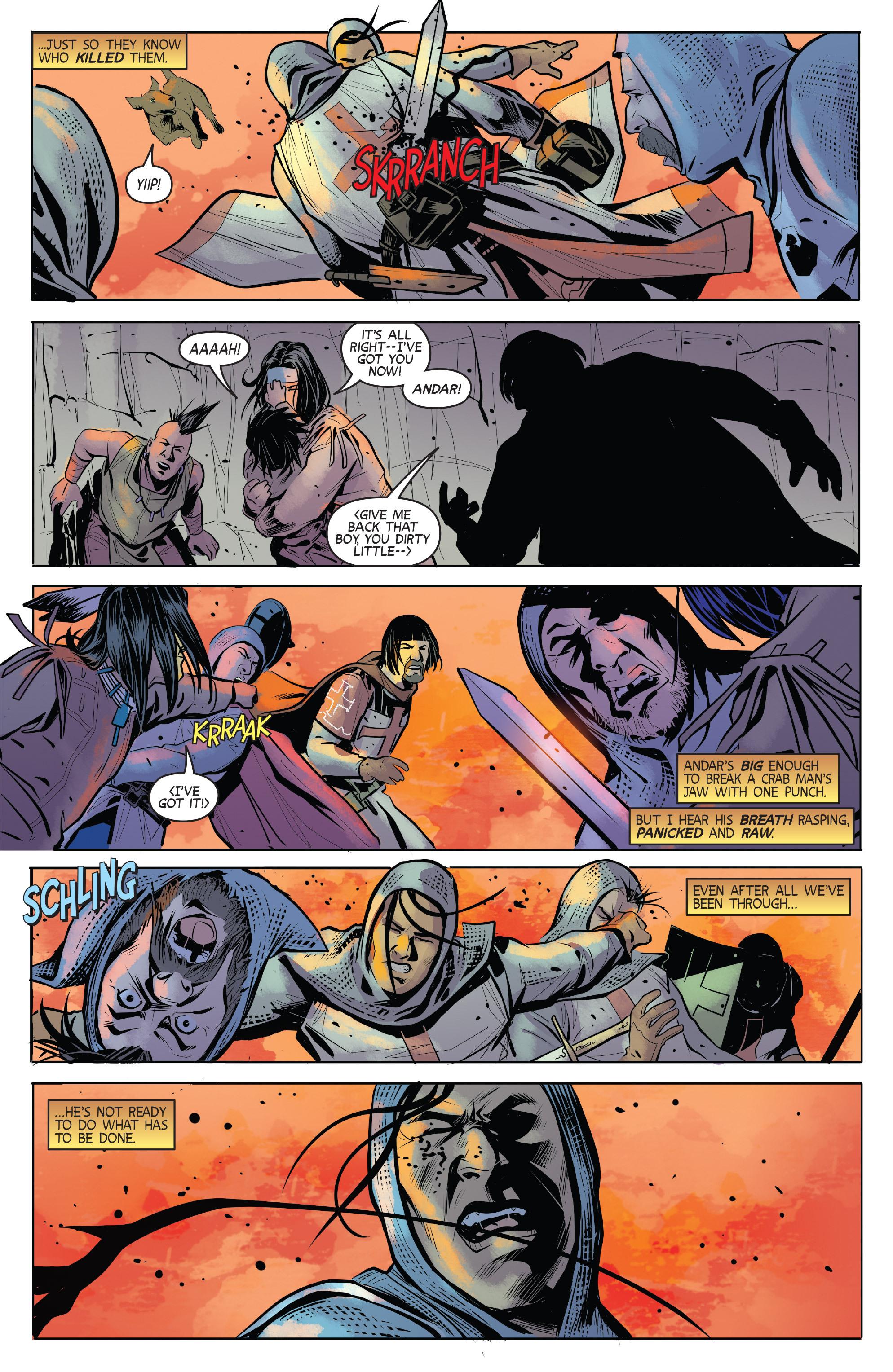 Read online Turok: Dinosaur Hunter (2014) comic -  Issue # _TPB 1 - 86