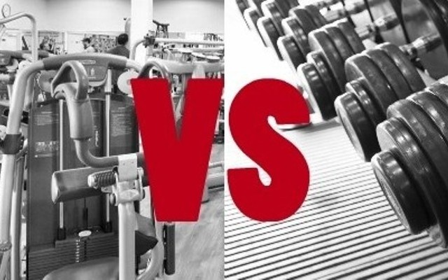 machine weights vs free weights