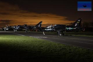 RAF Fast Jets Hawk Jaguar Phantom Cold War Cosford