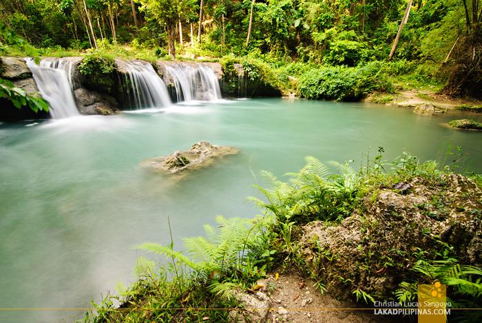Cambugahay Falls Siquijor Second Level