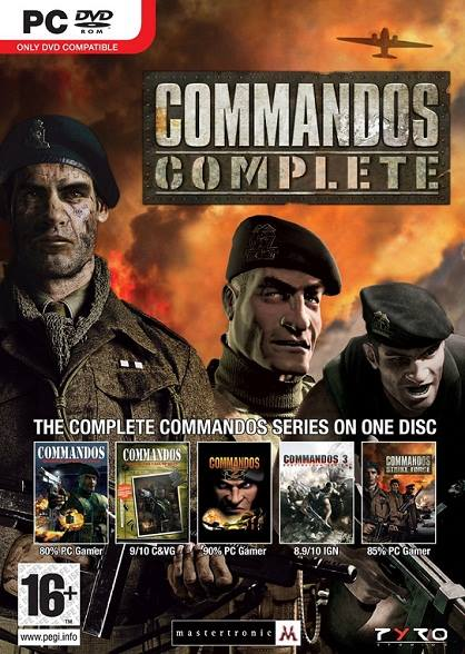 Commandos 1,2,3,4,5 Complete Games Collection Free Download