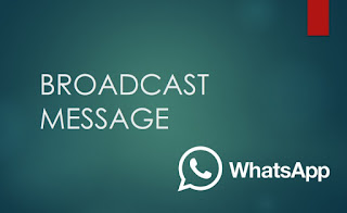 Cara Broadcast di WA / Whatsapp