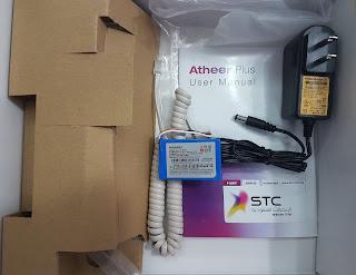 STC Single sim Atheer Plus