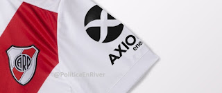 Camiseta, River, River Plate, Axion, Axion Energy, 2019