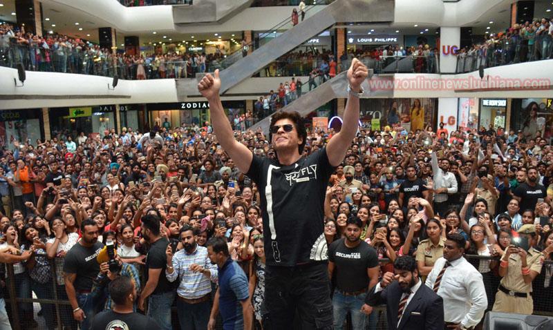 King Khan of Bollywood Shah Rukh Khan visits Ludhiana