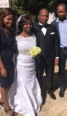Photos: South African man killed by robbers three weeks after his wedding