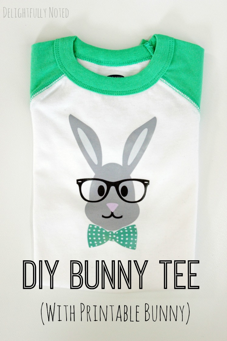 diy Easter t-shirt