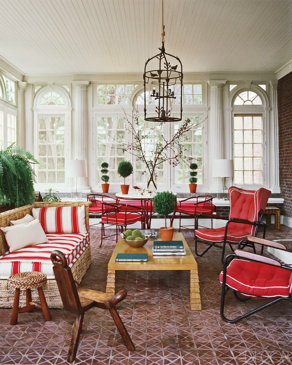 Sunroom Dining Room: Beautiful Abodes: Sunrooms, Equally Lovely Spaces Part Of
