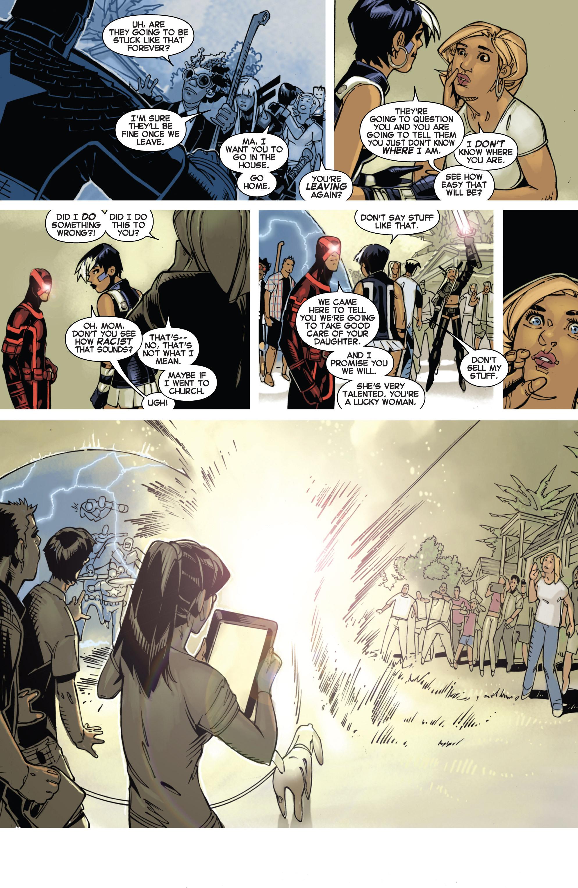 Read online Uncanny X-Men (2013) comic -  Issue # _TPB 1 - Revolution - 57