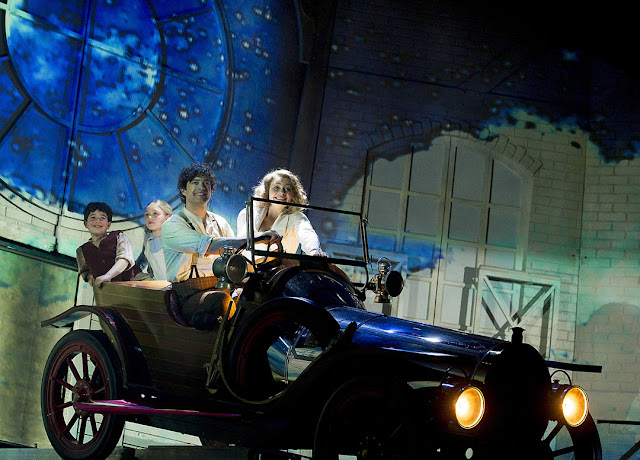 Chitty Chitty Bang Bang Tour, Lee Mead as Caractacus Potts, Carrie Hope Fletcher as Truly Scrumptious