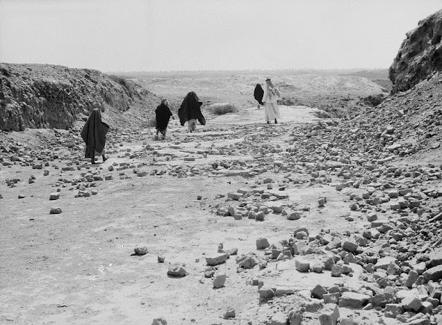 Fotografías de la antigua ciudad de Babilonia