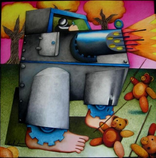 Philippe Loubat. Современный французский художник 7