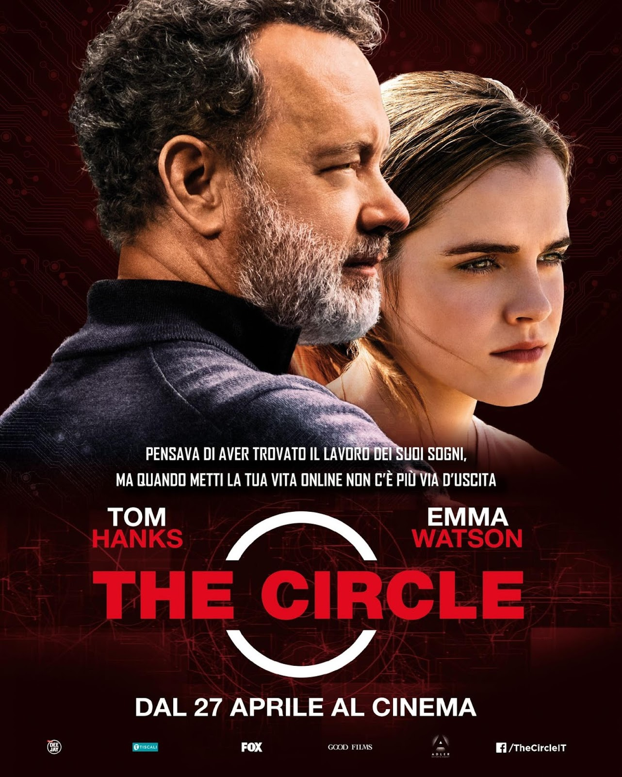 The Circle (2017) WEBRip  Full Movie Cover