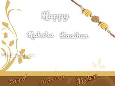 Raksha Bandhan 2019 Good Morning pictures-Pics For Sister