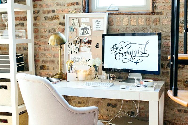 Interior de una casa-oficina
