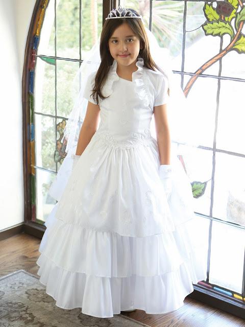 Vestidos de primera comunion los mas bellos