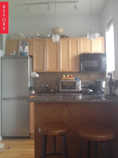 cozinha pequena reforma