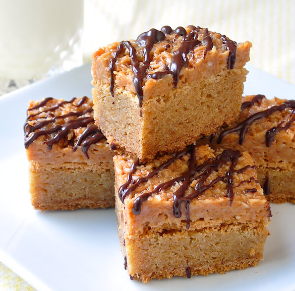 Samoa Blondies